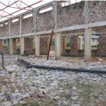 Inside of roofless church