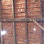 Leaky roof needs repair