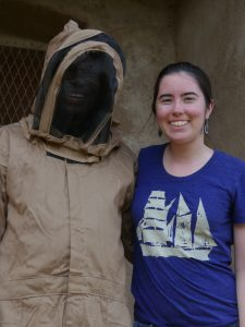Julia Shinnick and a mysterious beekeeper